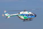 yabyanさんが、名古屋飛行場で撮影した福井県防災航空隊 BK117C-2の航空フォト(飛行機 写真・画像)