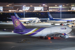 SGR RT 改さんが、羽田空港で撮影したタイ国際航空 747-4D7の航空フォト(飛行機 写真・画像)