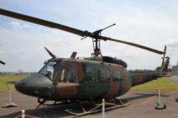 石鎚さんが、霞ヶ浦飛行場で撮影した陸上自衛隊 UH-1Jの航空フォト(飛行機 写真・画像)