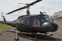 石鎚さんが、霞ヶ浦飛行場で撮影した陸上自衛隊 UH-1Hの航空フォト(飛行機 写真・画像)