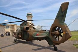 石鎚さんが、霞ヶ浦飛行場で撮影した陸上自衛隊 OH-1の航空フォト(飛行機 写真・画像)
