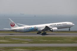 Sharp Fukudaさんが、羽田空港で撮影した日本航空 777-346/ERの航空フォト(飛行機 写真・画像)