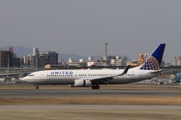 aki241012さんが、福岡空港で撮影したユナイテッド航空 737-824の航空フォト(飛行機 写真・画像)