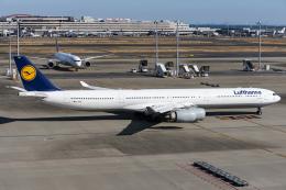 航空フォト:D-AIHW ルフトハンザドイツ航空 A340-600