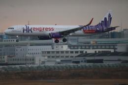 さかいさんが、福岡空港で撮影した香港エクスプレス A321-231の航空フォト(飛行機 写真・画像)