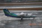 さかいさんが、福岡空港で撮影したオリエンタルエアブリッジ DHC-8-201Q Dash 8の航空フォト(飛行機 写真・画像)