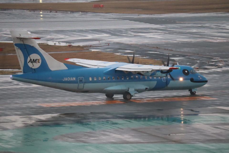 さかいさんの天草エアライン ATR 42 (JA01AM) 航空フォト