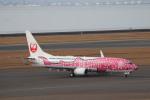 さかいさんが、中部国際空港で撮影した日本トランスオーシャン航空 737-8Q3の航空フォト(飛行機 写真・画像)