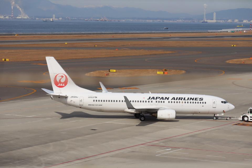 さかいさんの日本航空 Boeing 737-800 (JA320J) 航空フォト