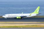 panchiさんが、羽田空港で撮影したソラシド エア 737-86Nの航空フォト(飛行機 写真・画像)