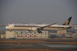 なないろさんが、福岡空港で撮影したシンガポール航空 787-10の航空フォト(飛行機 写真・画像)