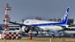 パンダさんが、成田国際空港で撮影した全日空 777-381/ERの航空フォト(飛行機 写真・画像)