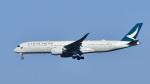 パンダさんが、成田国際空港で撮影したキャセイパシフィック航空 A350-941XWBの航空フォト(飛行機 写真・画像)