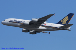 Chofu Spotter Ariaさんが、成田国際空港で撮影したシンガポール航空 A380-841の航空フォト(飛行機 写真・画像)