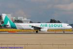 Chofu Spotter Ariaさんが、成田国際空港で撮影したエアソウル A321-231の航空フォト(飛行機 写真・画像)