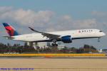 Chofu Spotter Ariaさんが、成田国際空港で撮影したデルタ航空 A350-941の航空フォト(飛行機 写真・画像)