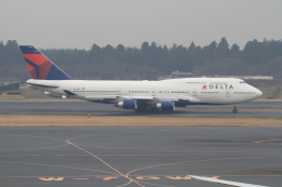 TAK_HND_NRTさんが、成田国際空港で撮影したデルタ航空 747-451の航空フォト(飛行機 写真・画像)