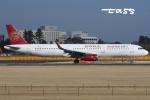 tassさんが、成田国際空港で撮影した吉祥航空 A321-231の航空フォト(飛行機 写真・画像)