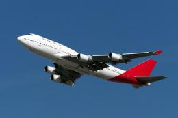 LAX Spotterさんが、ロサンゼルス国際空港で撮影したカンタス航空 747-438/ERの航空フォト(飛行機 写真・画像)