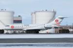 よっしぃさんが、新千歳空港で撮影した中一航空 BD-700-1A10 Global Expressの航空フォト(飛行機 写真・画像)