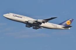 ジェットジャンボさんが、羽田空港で撮影したルフトハンザドイツ航空 747-830の航空フォト(飛行機 写真・画像)