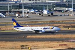 TAK_HND_NRTさんが、羽田空港で撮影したスカイマーク 737-8HXの航空フォト(飛行機 写真・画像)
