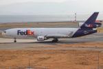 代打の切札さんが、関西国際空港で撮影したフェデックス・エクスプレス MD-11Fの航空フォト(飛行機 写真・画像)
