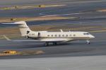 TAK_HND_NRTさんが、羽田空港で撮影したジェット・アビエーション・ビジネス・ジェット Gulfstream G650ER (G-VI)の航空フォト(飛行機 写真・画像)