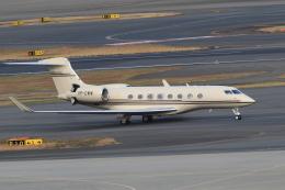 TAK_HND_NRTさんが、羽田空港で撮影したジェット・アビエーション・ビジネス・ジェット G650ER (G-VI)の航空フォト(飛行機 写真・画像)
