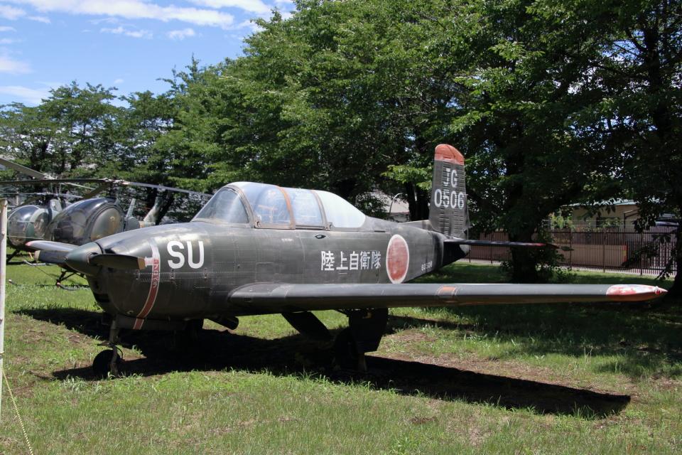 石鎚さんの陸上自衛隊 Fuji T-34 (60506) 航空フォト
