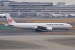 やつはしさんが、羽田空港で撮影した日本航空 777-346/ERの航空フォト(飛行機 写真・画像)