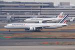 やつはしさんが、羽田空港で撮影したエールフランス航空 777-328/ERの航空フォト(飛行機 写真・画像)