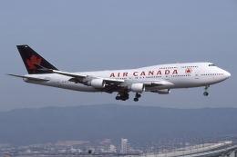 @たかひろさんが、関西国際空港で撮影したエア・カナダ 747-433Mの航空フォト(飛行機 写真・画像)