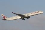 安芸あすかさんが、シドニー国際空港で撮影したカタール航空 A350-1041の航空フォト(飛行機 写真・画像)