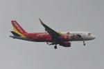 kuro2059さんが、ノイバイ国際空港で撮影したベトジェットエア A320-214の航空フォト(飛行機 写真・画像)