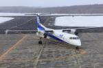 norimotoさんが、中標津空港で撮影したANAウイングス DHC-8-402Q Dash 8の航空フォト(飛行機 写真・画像)