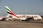 安芸あすかさんが、メルボルン空港で撮影したエミレーツ航空 A380-861の航空フォト(飛行機 写真・画像)