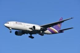 キットカットさんが、成田国際空港で撮影したタイ国際航空 777-2D7の航空フォト(飛行機 写真・画像)