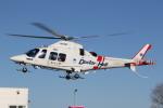 ゴンタさんが、新潟市で撮影した静岡エアコミュータ AW109SP GrandNewの航空フォト(飛行機 写真・画像)