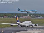 masarunphotosさんが、フランクフルト国際空港で撮影したルフトハンザドイツ航空 747-830の航空フォト(飛行機 写真・画像)