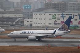 Yuseiさんが、福岡空港で撮影したユナイテッド航空 737-724の航空フォト(飛行機 写真・画像)
