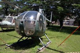 石鎚さんが、宇都宮飛行場で撮影した陸上自衛隊 OH-6Jの航空フォト(飛行機 写真・画像)