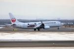 北の熊さんが、新千歳空港で撮影した日本トランスオーシャン航空 737-8Q3の航空フォト(飛行機 写真・画像)