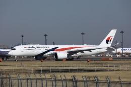 garrettさんが、成田国際空港で撮影したマレーシア航空 A350-941の航空フォト(飛行機 写真・画像)