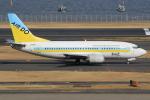 キイロイトリさんが、羽田空港で撮影したAIR DO 737-54Kの航空フォト(飛行機 写真・画像)
