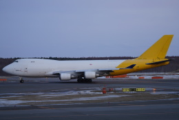SFJ_capさんが、新千歳空港で撮影したアトラス航空 747-47UF/SCDの航空フォト(飛行機 写真・画像)