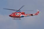 qooさんが、高松空港で撮影した岡山県消防防災航空隊 412EPの航空フォト(飛行機 写真・画像)
