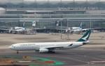 ハム太郎。さんが、羽田空港で撮影したキャセイパシフィック航空 A330-343Xの航空フォト(飛行機 写真・画像)