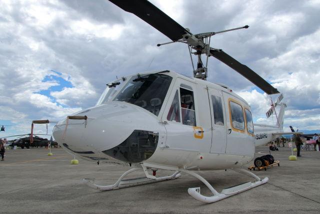 石鎚さんが、宇都宮飛行場で撮影したエフ・エー・エス 205B(FujiBell)の航空フォト(飛行機 写真・画像)