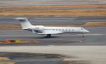 ハム太郎。さんが、羽田空港で撮影したAikawa Medical Management Co Inc G500/G550 (G-V)の航空フォト(飛行機 写真・画像)